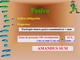 Perifrástica (pasiva)