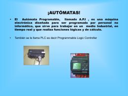 ¡AUTÓMATAS! - INTEF