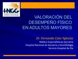 Diapositiva 1 - Geriatría Clínica y Académica |