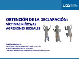 Diapositiva 1 - Fiscalía de Chile