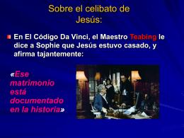 Celibato de Jesús