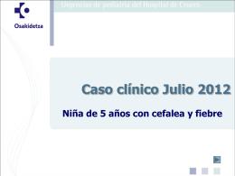 Caso clínico Enero 2008 - EXTRANET