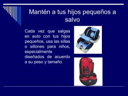 Mantén a tus hijos pequeños a salvo
