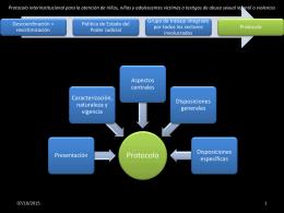 Protocolo interinstitucional para la atención de