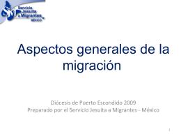 Doctrina Social de la Iglesia y migración