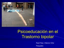 Psicoeducación en el trastorno Bipolar -