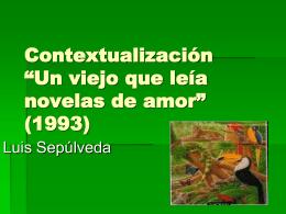 """Contextualización """"El beso de la mujer araña"""""""