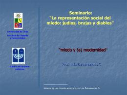 """Representación social: miedo"""""""