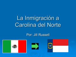 La Inmigración en Carolina del Norte