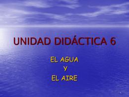 UNIDAD DIDÁCTICA 6