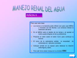 Riñon 6 agua - Temas de Fisiologia
