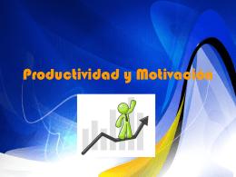 Productividad y Motivación