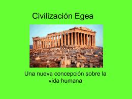 Civilización Egea