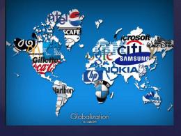 La globalización en nuestros días