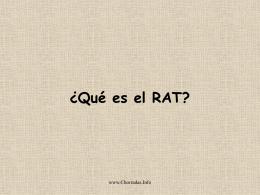 ¿Que es el RAT?