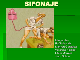 SIFONAJE - INICIO - Página Jimdo de