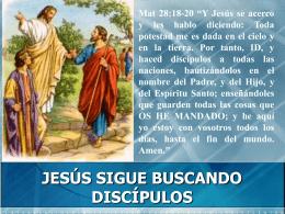 EL VALOR DE SER UN DISCIPULO DE JESÚS