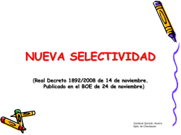 Diapositiva 1 - Cardenal Spínola