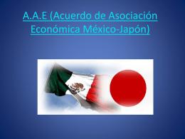 A.A.E (Acuerdo de Asociación Económica