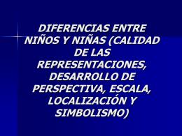 DIFERENCIAS ENTRE NIÑOS Y NIÑAS (CALIDAD DE LAS