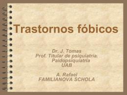 FOBIA SOCIAL Y FOBIAS ESPECÍFICAS