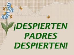 DESPIERTA PAPÁ DESPIERTA - Universidad de La Salle