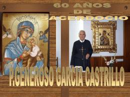 60 AÑOS DE SACERDOCIO-