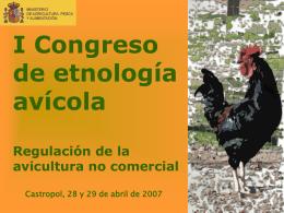 I Congreso de etnología avícola