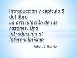 Introducción y capítulo 5 del libro La