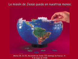 Ascensión de Jesús -A-