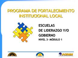 Diapositiva 1 - Inicio - Fundación Oleoductos de