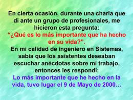 Diapositiva 1 - Iñaki Anasagasti
