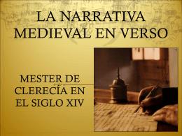 La narrativa épica medieval