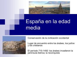 España en la edad media