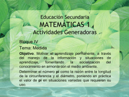 Educación Secundaria MATEMÁTICAS 1