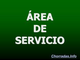 Área de servicio.