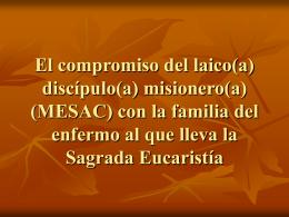 El compromiso del laico(a)