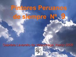 9 PINTORES PERUANOS Nº 9
