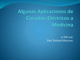 Algunas Aplicaciones de Circuitos Eléctricos a