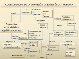 CONSECUENCIAS DE LA EXPANSIÓN DE LA REPÚBLICA