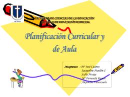 FACULTAD DE CIENCIAS DE LA EDUCACIÓN ESCUELA DE