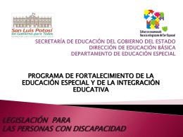SECRETARÍA DE EDUCACIÓN DEL GOBIERNO DEL ESTADO