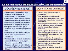Diseño del Sistema de Evaluación del Desempeño