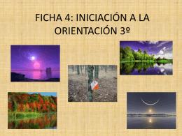 FICHA 4: INICIACIÓN A LA ORIENTACIÓN