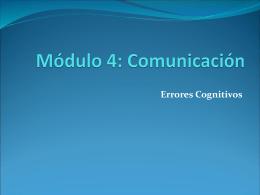 Módulo 4: Comunicación