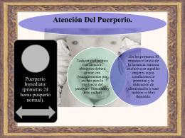 Atención Del Puerperio.