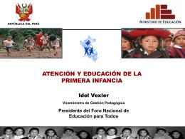 MODELOS DE ATENCIÓN EDUCATIVA EN EL PROGRAMA DE