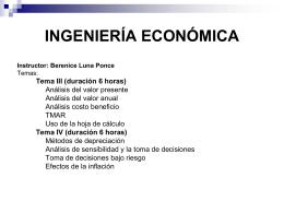 Conceptos básicos y equivalencia del dinero a