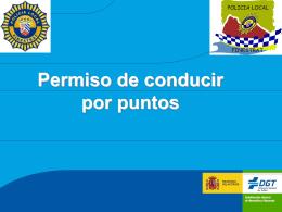 Carnet por puntos - Policía Local de Finestrat -