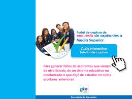 Presentación de PowerPoint - Portal SUREMS -